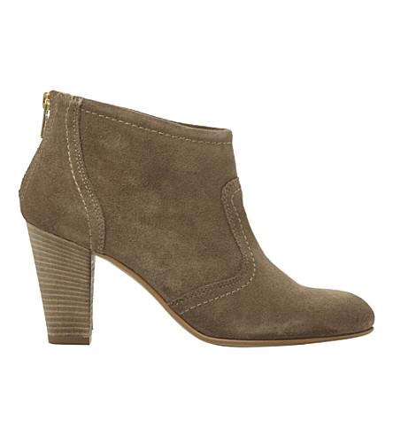 DUNE BLACK Poppey suede boots (Mink-suede
