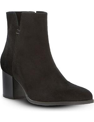 DUNE BLACK Paislie suede ankle boots