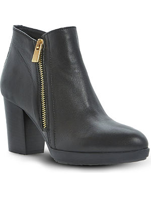 DUNE BLACK Ponto heeled ankle boots