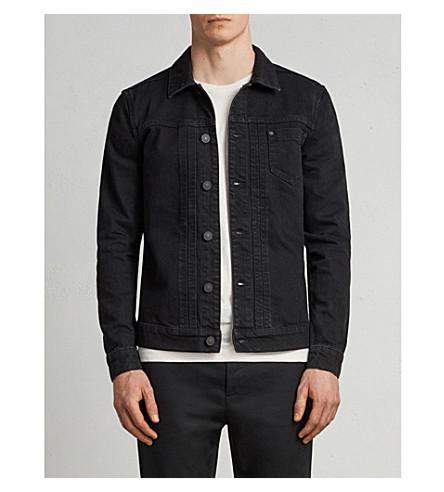 ALLSAINTS Bajio regular-fit denim jacket (Black