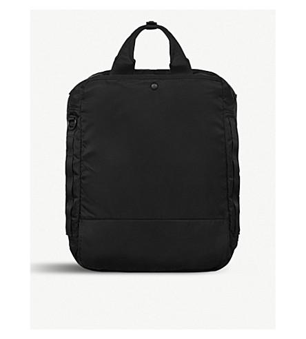 ALLSAINTS Sayre convertible shell backpack (Black