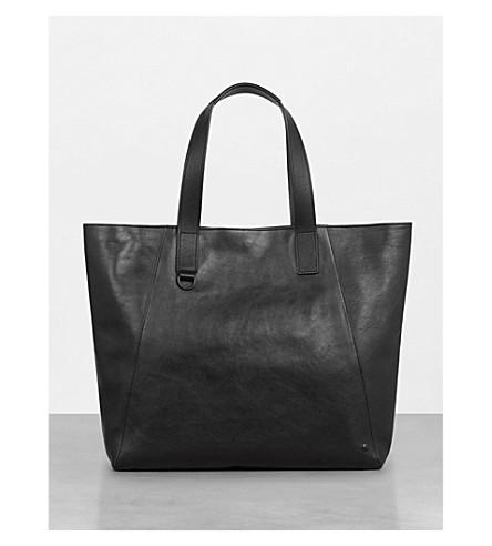 ALLSAINTS Hudon leather tote (Black