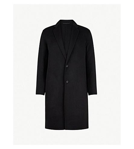 ALLSAINTS Foley wool-blend coat (Black