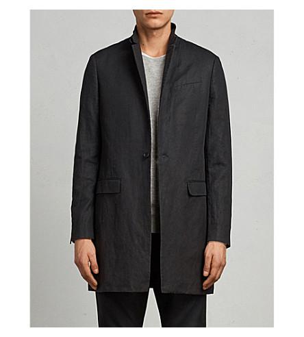 ALLSAINTS Hirst wool-blend coat (Black
