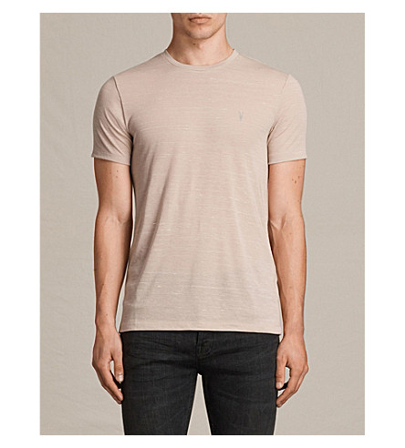 ... ALLSAINTS Stanley jersey T-shirt (Oat+pink. PreviousNext
