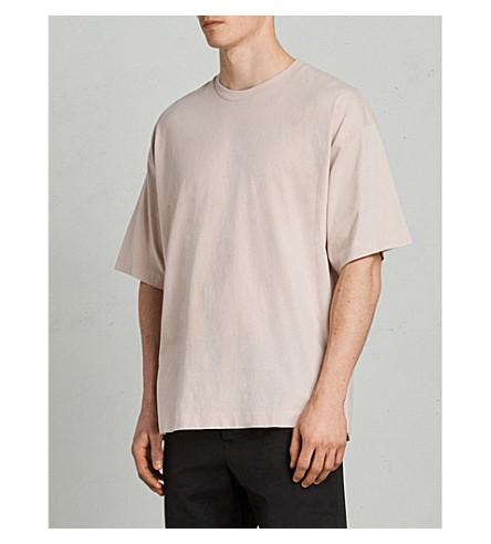 ALLSAINTS Atnom cotton T-shirt (River+pink