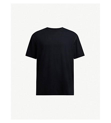 ALLSAINTS Dadelia cotton-jersey T-shirt (Black/resort+g