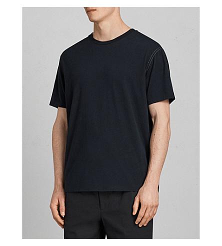 ALLSAINTS Dadelia cotton-jersey T-shirt (Black/resort+g