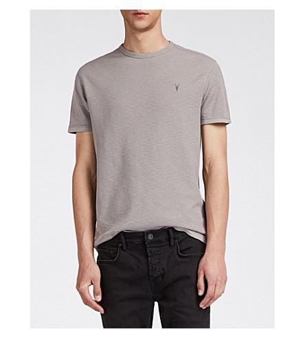 ALLSAINTS algodón punto gofre de Clash Camiseta Masilla de marrón ZwrRZFq