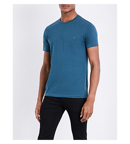ALLSAINTS 3 pack cotton-jersey T-shirts (Blue/white/bla