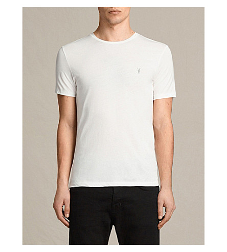 Chalk jersey pack ALLSAINTS black gr cotton T 3 shirts YqBwF