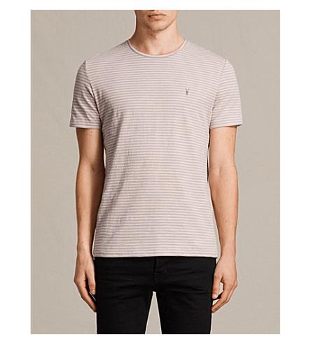 ALLSAINTS Tonic Trid cotton-jersey T-shirt (Dusk+pink/whit