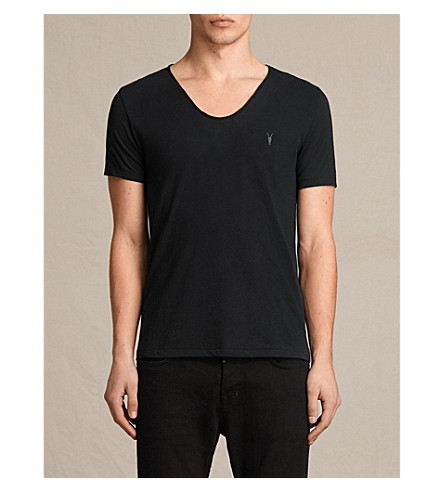 ALLSAINTS Tonic cotton-jersey t-shirt (Jet+black