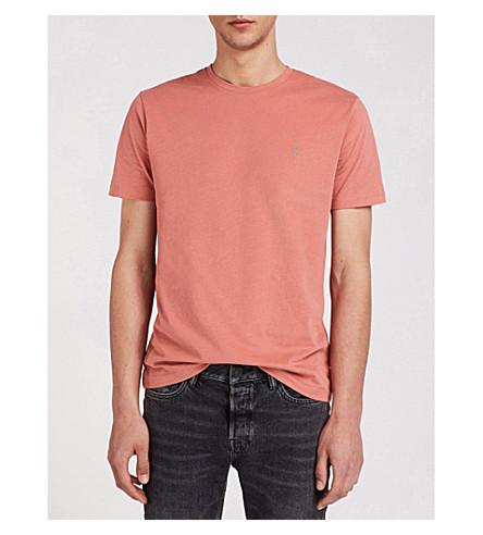 pack tonic jersey Brace shirts cotton T chalk gre of ALLSAINTS three Pink R5ERw6