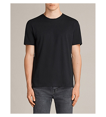 ALLSAINTS Migure cotton-jersey T-shirt (Jet+black