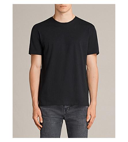 ALLSAINTS Migure 平纹针织棉 T 恤 (喷气 + 黑色