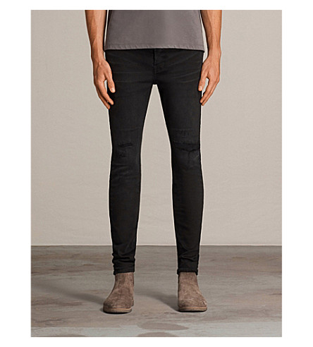 ALLSAINTS Bixby slim-fit skinny jeans (Black