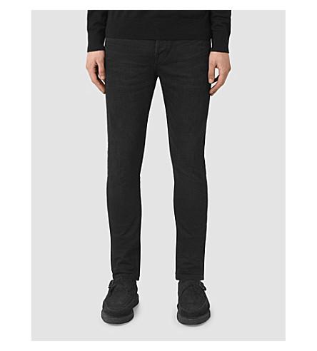 ALLSAINTS Rannoch Cigarette skinny-fit jeans (Indigo+blue