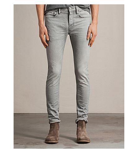 ALLSAINTS Ghoul cigarette skinny jeans (Grey