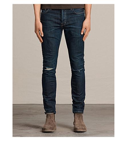 ALLSAINTS Keiko Cigarette slim-fit skinny jeans (Indigo