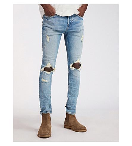 ALLSAINTS Ichnaw Cigarette washed-out denim jeans (Indigo