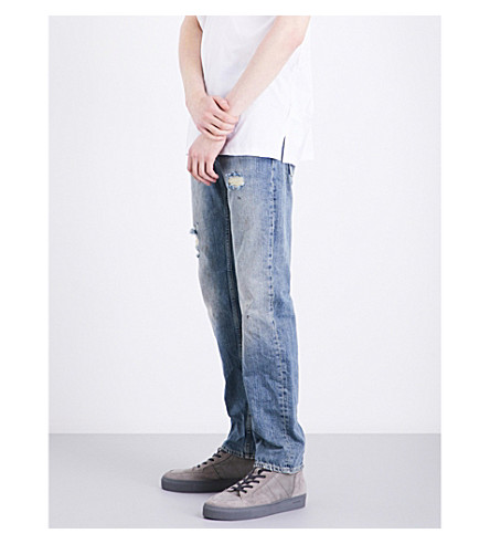 ALLSAINTS Dakota Iggy regular-fit straight jeans (Indigo+blue