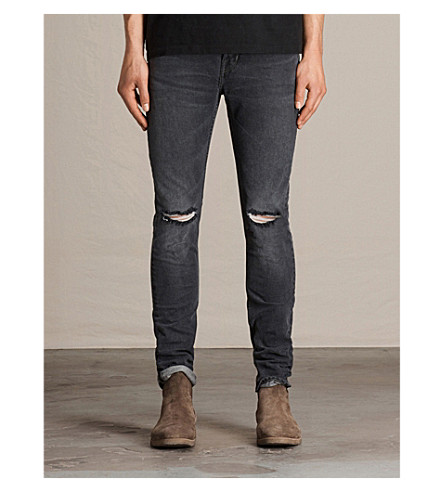 ALLSAINTS Bannock mid-rise skinny cigarette jeans (Black