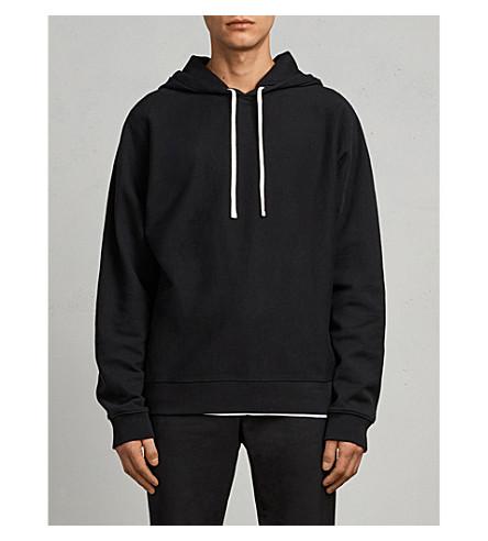 ALLSAINTS Gethian cotton-jersey hoody (Black