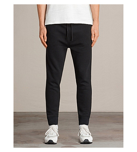 ALLSAINTS Elders neoprene jogging bottoms (Black