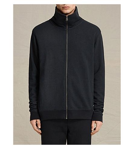 ALLSAINTS Cinder cotton-jersey zip-up sweatshirt (Cinder+marl