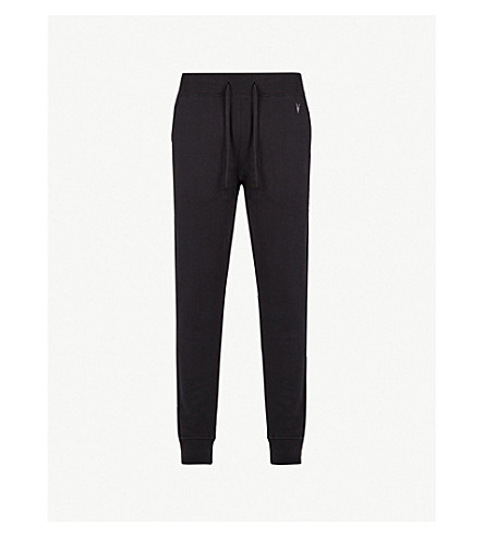 ALLSAINTS Raven slim-fit cotton jogging bottoms (Black