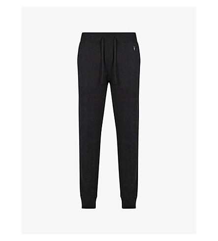 ALLSAINTS Raven slim-fit cotton jogging bottoms (Black