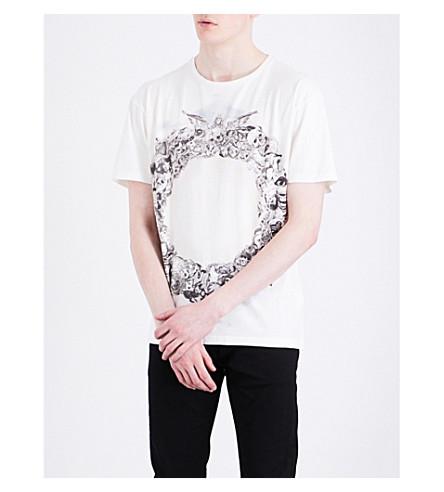 ALLSAINTS Dead Ringer cotton-jersey T-shirt (Chalk+white