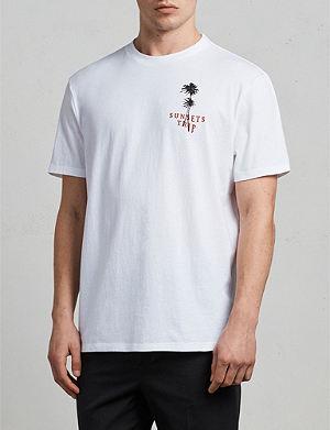 ALLSAINTS Trip printed cotton-jersey T-shirt