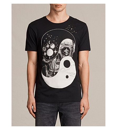 ALLSAINTS Balance cotton-jersey T-shirt (Black