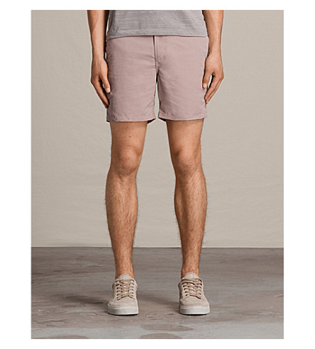 ALLSAINTS Warden elasticated swim shorts (Dusk+pink