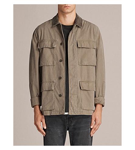 ALLSAINTS Dyers drill jacket (Khaki+green