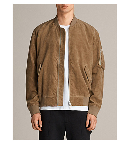 ALLSAINTS Nothing Really Happens Valley corduroy jacket (Camel
