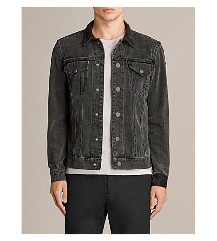 ALLSAINTS Baton denim jacket (Black