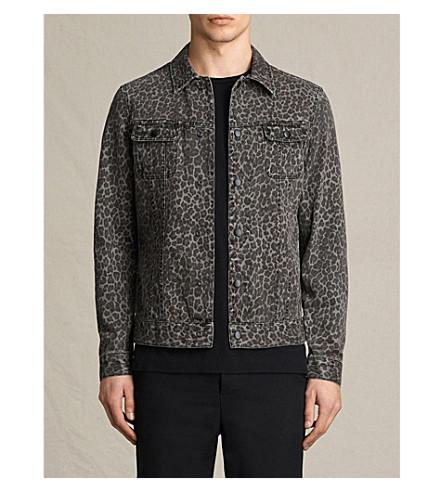 ALLSAINTS Leopard Laguna denim jacket (Leopard