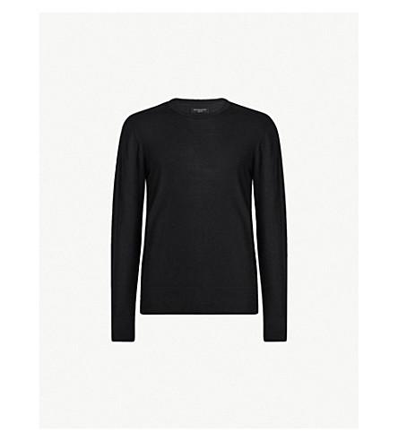 ALLSAINTS Lang crewneck merino wool sweater (Black