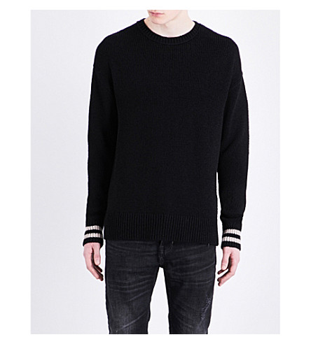 ALLSAINTS Rylatt cotton-blend jumper (Black