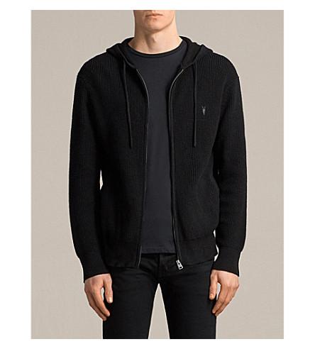 ALLSAINTS Mert cotton-jersey hoody (Black