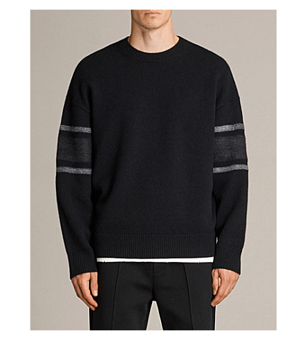 ALLSAINTS Haus wool-blend jumper (Black