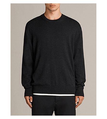 ALLSAINTS Cinder jersey jumper (Cinder+black+m