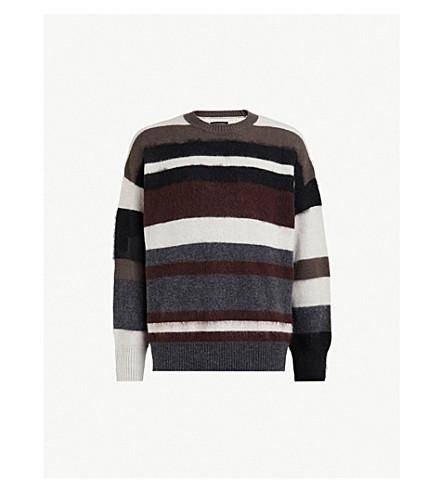 ALLSAINTS Striley striped wool-blend sweater (Multi