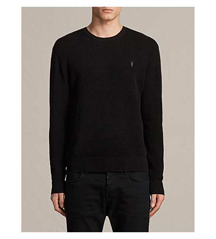 ALLSAINTS Trias knitted jumper (Black