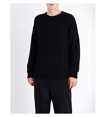ALLSAINTS Minami chunky-knit sweater (Black