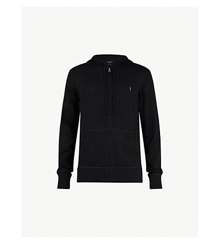 ALLSAINTS Mode marl wool hoody (Black