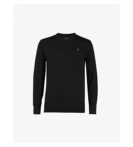 ALLSAINTS Mode slim-fit wool jumper (Black